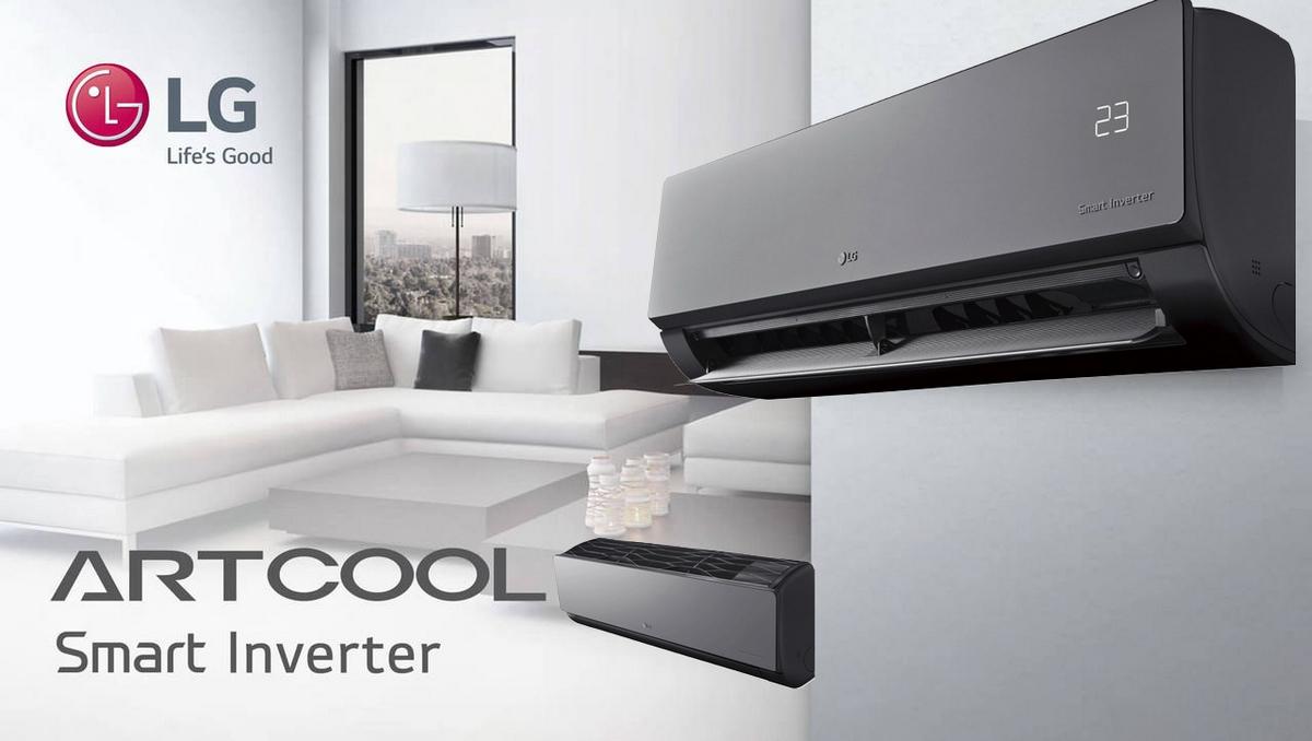 lg artcool ac18bq r32 5kw klimaanlage inverter klimager t. Black Bedroom Furniture Sets. Home Design Ideas