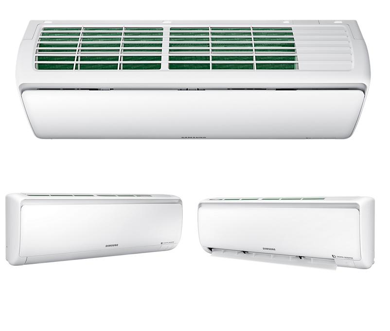 samsung eco ar12ksfpewqnze x 3 5kw klimaanlage inverter. Black Bedroom Furniture Sets. Home Design Ideas