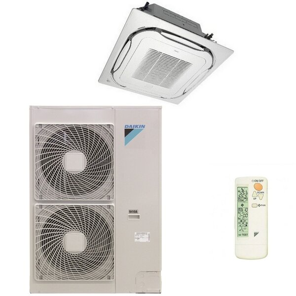 Daikin FCAHG125 2 SEASONAL SMART Wege-Deckenkassette-Set - 12 kW