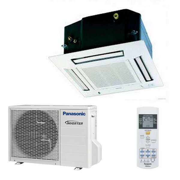 Panasonic KIT-E12PB4EA Inverter Deckengeräte-Set - 3,4 kW