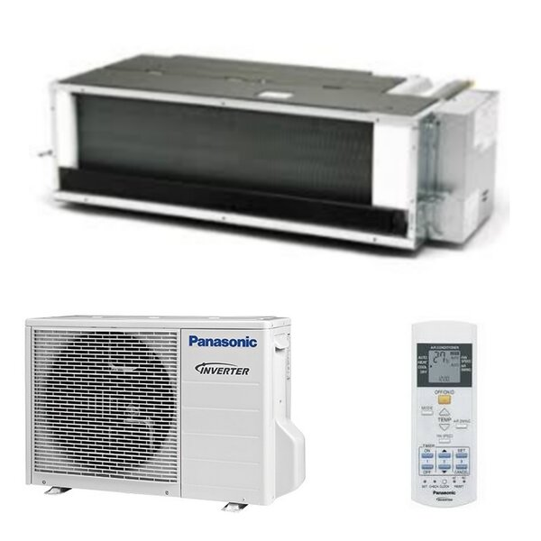 Panasonic KIT-E9PD3EA Inverter Kanaleinbaugerät-Set - 2,5 kW