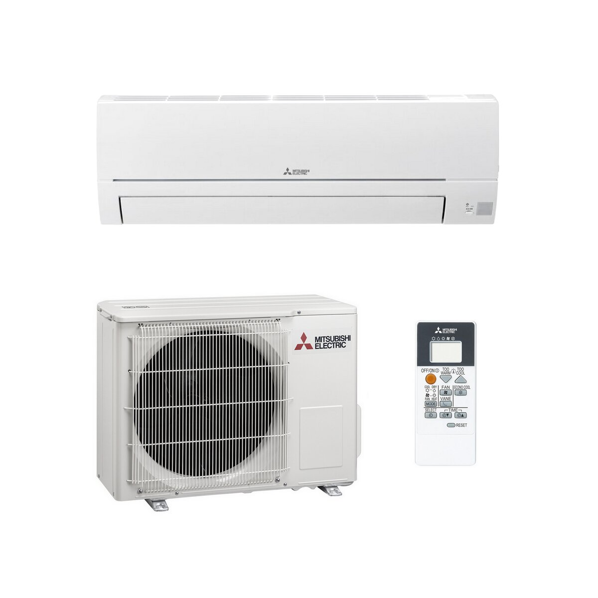 Mitsubishi Msz Dm25 Basic Edition Set 25 Kw