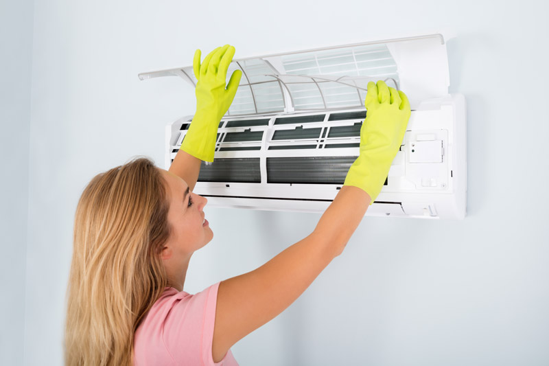 Regelmäßige Reinigung und Wartung der Klimaanlage